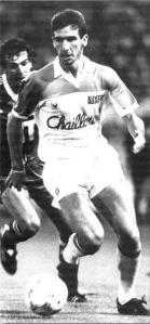 Michel Bibard à la poursuite de Cantona