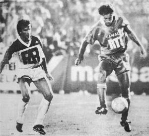 Gabriel Calderon devant une vieille connaissance du PSG, Lemoult
