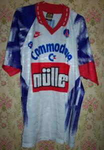 Maillot domicile 1991-92, seconde version