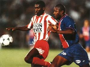 Pascal Nouma à la lutte...