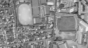 Vue aérienne du stade de l'Armoricaine