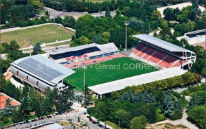 Le stade Gaston-Gérard (photo Gérard Corret)