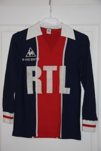 Maillot domicile 1980-81 (collection MaillotsPSG)