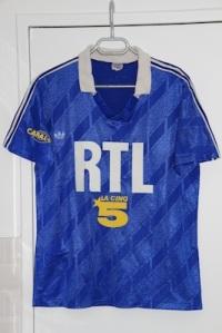 Maillot extérieur 1988-89 (collection MaillotsPSG)