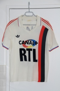 Maillot domicile 1986-88 (collection MaillotsPSG)