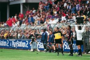 L'entrée en jeu de Ronaldinho...