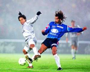 Ronaldinho semble danser