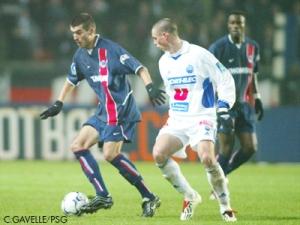 Jérôme Leroy balle au pied