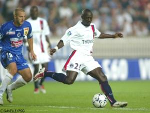 Alioune Touré, entré en fin de match