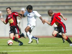 Le premier match de Vikash Dhorasoo au PSG