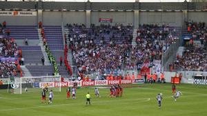 Les fans parisiens présents au Stadium