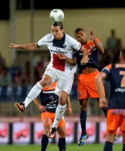 Zlatan Ibrahimovic au duel avec Marvaeaux