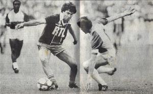 Omar Da Fonseca balle au pied