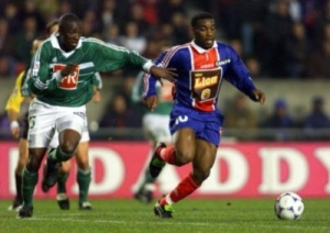 Psg saint etienne 1 0 09 01 99 coupe de la ligue 98 99 - Paris saint etienne coupe de la ligue ...