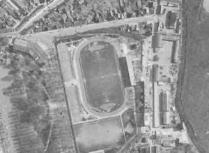 Vue aérienne du stade Séraucourt