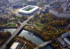 Le stade des Alpes