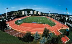 Le stade Jacques-Forestier d'Aix-les-Bains