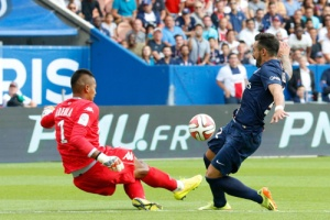 Photo Ch. Gavelle, psg.fr (image en taille et qualité d'origine: http://www.psg.fr/fr/Actus/105003/Galeries-Photos#!/fr/2014/2885/42072/match/Paris-Bastia-2-0/Paris-Bastia-2-0)