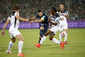Le tir victorieux de Zlatan Ibrahimovic
