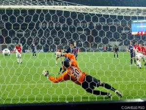 Roma est battu! 2-1 pour Paris...