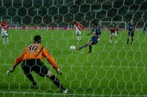 Le penalty de Ronadinho