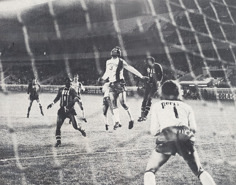 Psg lyon 1 1 04 05 76 coupe de france 75 76 archives paris football - Coupe de france psg lyon ...