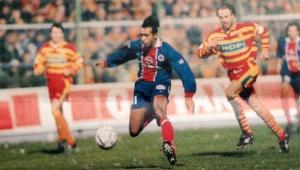 C'est Patrice Loko qui égalisera pour le PSG (archives Histoire du PSG)