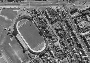 Vue aérienne du stade de Venoix