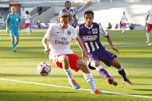 Photo Ch. Gavelle, psg.fr (image en taille et qualité d'origine: http://www.psg.fr/fr/Actus/105003/Galeries-Photos#!/fr/2014/2891/42536/match/Toulouse-Paris-1-1/Toulouse-Paris-1-1)