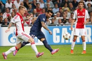 Photo Ch. Gavelle, psg.fr (image en taille et qualité d'origine : http://www.psg.fr/fr/Actus/105003/Galeries-Photos#!/fr/2014/2996/42365/match/Ajax-Paris-1-1/Ajax-Paris-1-1)