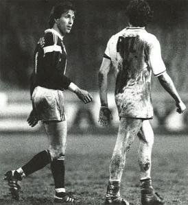 Girard, qui avant de devenir un entraîneur insupportable fût un joueur… insupportable.