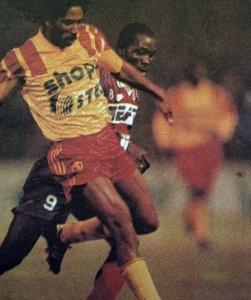 George Weah devancé (HAC Foot Archives)