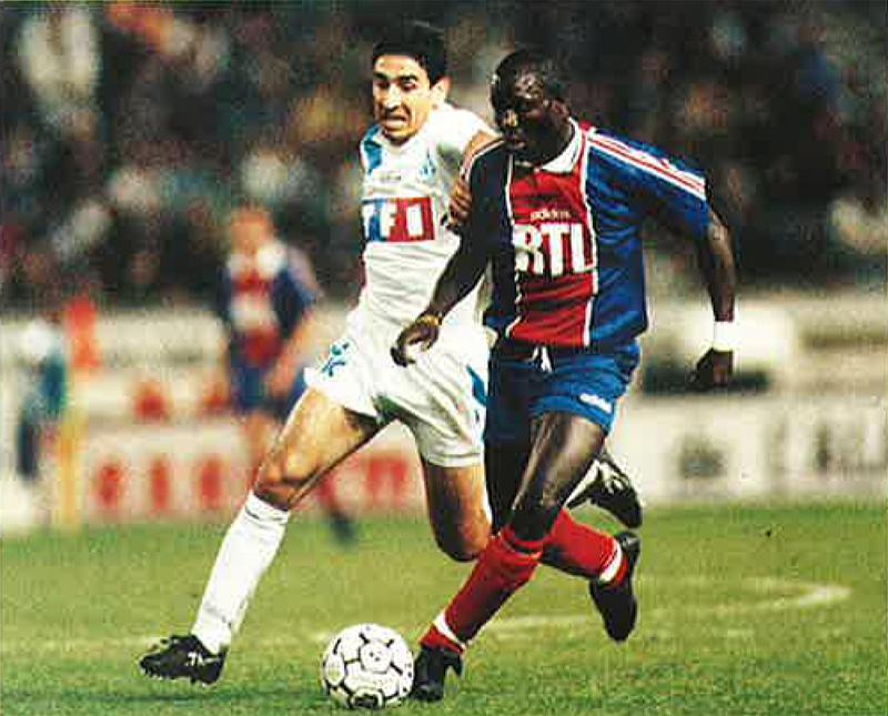 Psg marseille 2 0 11 04 95 coupe de france 94 95 archives paris football - Marseille coupe de france ...