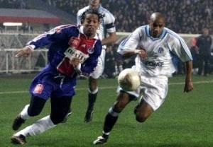 Débordement de Ronaldinho