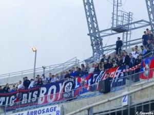 Les supporters parisiens (Ch. Gavelle)