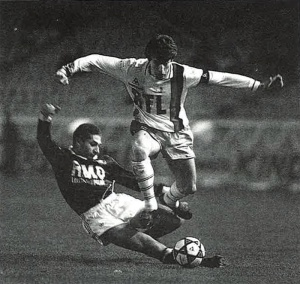 Luis Fernandez taclé par Passi