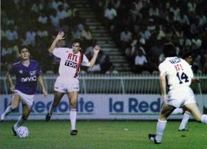 Michel Bibard à la poursuite de Cantona (Ch. Gavelle)