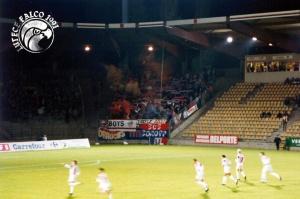 Les supporters parisiens présent à Grimonprez-Jooris (Lutece Falco)