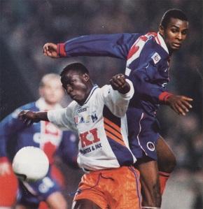 Didier Domi à la lutte