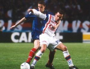 Bruno Carotti à la lutte avec le même Ouedec