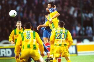Edouard Cissé plus haut que les nantais (Ch. Gavelle)
