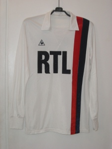 Maillot domicile 1982-83, version Europe