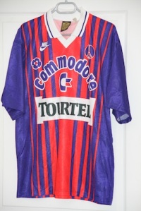 Maillot domicile 1993-94 (collection MaillotsPSG)