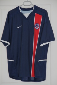 Maillot domicile 2002-03 (collection MaillotsPSG)