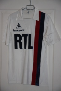 Maillot domicile 1982-83 (collection MaillotsPSG)
