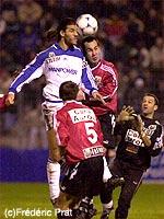 Mickaël Madar, qui aura marqué les deux buts parisiens (F. Prat)