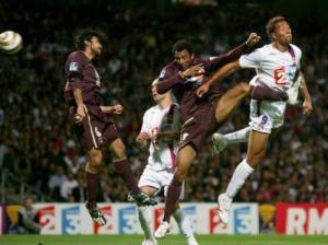 Edouard Cissé en position difficile...