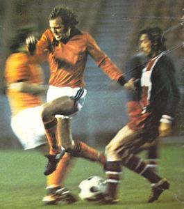 Philippe Redon à la lutte avec van de Kerkhof (archives MK)