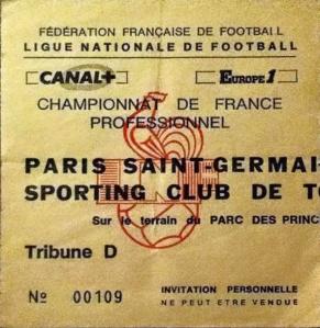 psg toulon 4 0 04 08 90 division 1 90 91 archives paris football. Black Bedroom Furniture Sets. Home Design Ideas