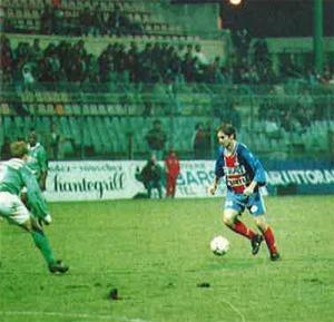 Jean-Philippe Sechet balle au pied